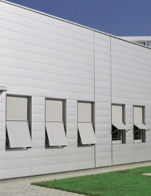 Fassadenbeschattung, Fassadenmarkisen, Gebäudebeschattung