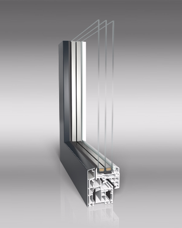 Moderne Fenster, Spitzen Fenster,