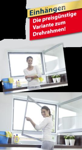 Insektenschutzfenster, Spannrahmen, Gazefenster