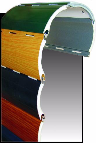 Aluminium Rollladen in allen Farben