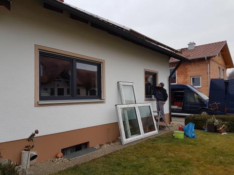 Fenster Erneuerung, Fenster Renovierung, Fensterblech,