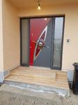 Exklusiv Inotherm Haustüre mit zwei Seitenteilen