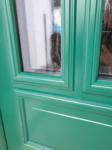 Moosgrüne Klassische Haustüre