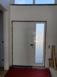 Haustüre innen weiß
